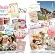 festival summer fete tea party wedding stationery invitations thumbnail