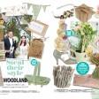 woodland rustic wedding stationery invitations thumbnail
