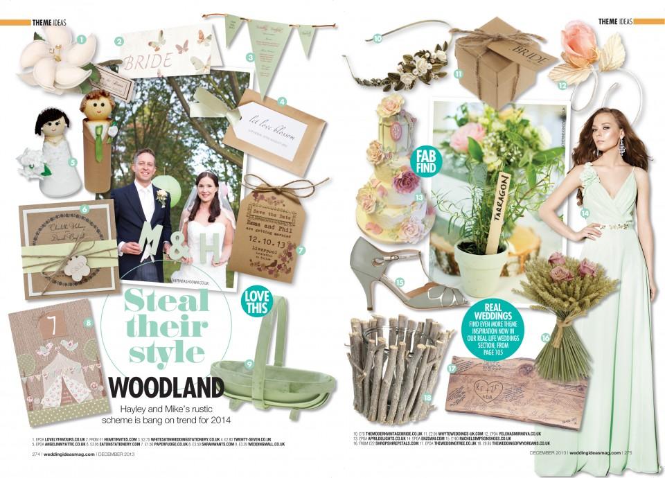 woodland rustic wedding stationery invitations