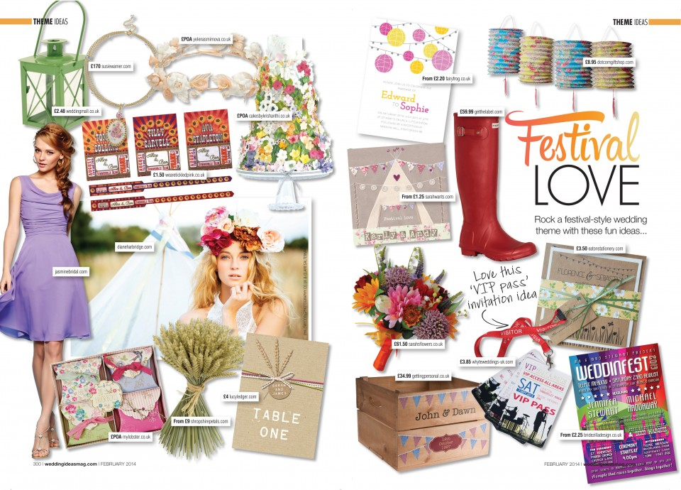 festival love tipi wedding stationery invitations
