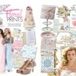 floral print wedding stationery invitations thumbnail