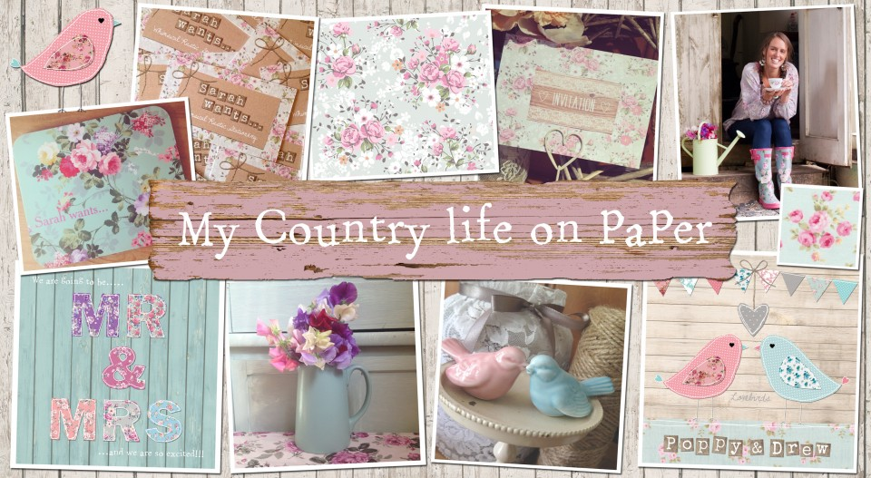My country life on paper. Country rustic vintage wedding stationery and invitations