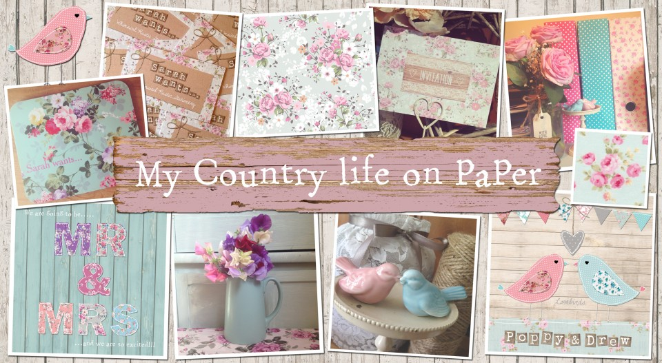 my country life on paper