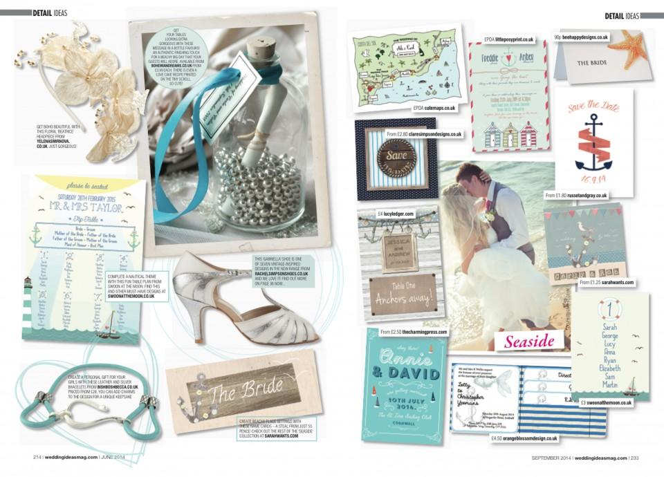 seaside coast nautical wedding invitations stationery