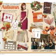 christmas rustic autumn wedding invitations and stationery thumbnail