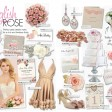 love is sweet pink rose floral wedding stationery invitations thumbnail