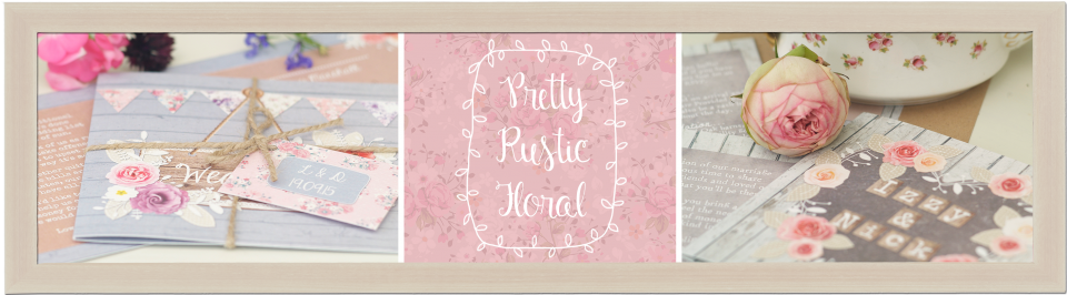 country, rustic, floral, shabby chic, wedding invitations and stationery 2
