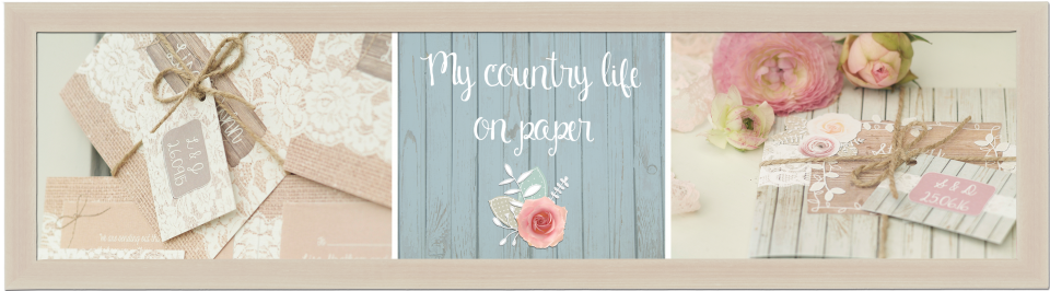 country, rustic, floral, shabby chic, wedding invitations and stationery 4