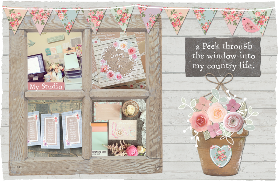 Sarah wants wedding stationery and invitations rustic country vintage whimsical woodland winter bright floral studio