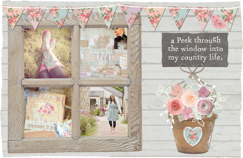 Sarah wants wedding stationery and invitations rustic vintage country pastel floral bunting shabby chic pretty cute quirky cath kidston