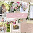 Jo & DAN  Rustic country vintage shabby chic floral cath kidston wedding invitations and stationery thumbnail