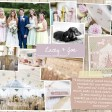 Lacey & Joe Rustic country vintage shabby chic floral cath kidston wedding invitations and stationery thumbnail