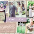 Victoria & Marc Rustic country vintage shabby chic floral cath kidston wedding invitations and stationery thumbnail