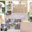 cable & Gina  Rustic country vintage shabby chic floral cath kidston wedding invitations and stationery thumbnail