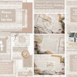 Sarah Wants Natural Elegance Rustic country vintage wedding stationery and invitations hessian, lace, burlap, wood, mocha, rustic, pretty, button, delicate, elegant thumbnail