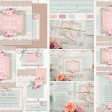 Sarah Wants Rustic Farmhouse Rustic country vintage wedding stationery and invitations, hessian, lace, burlap, mint, blush, floral, flowers, bright florals, pastel, rustic bright, pretty, rustic twine, rustic bow thumbnail