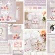 Sarah Wants Vintage Birdcage Rustic country vintage wedding stationery and invitations, bird, birds, birdcage, bird cage, vintage, lilac, swallow, roses, floral, peach, pink, purple, roses, dusky lilac, lace, thumbnail