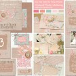 Sarah Wants all you need is love rustic country vintage wedding stationery and invitations, rustic bright, pattern, floral, hessian, burlap, rustic twine, wooden button, rustic bow, shabby chic, applique, bright letters, love letters thumbnail