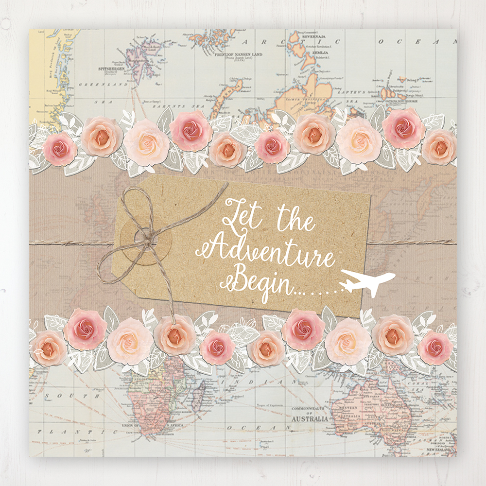 Adventure Wedding Collection - Main Stationery Design