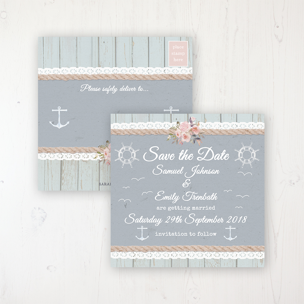 Anchored In Love Save The Dates