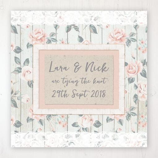 Apricot Sunrise Wedding Collection - Main Stationery Design
