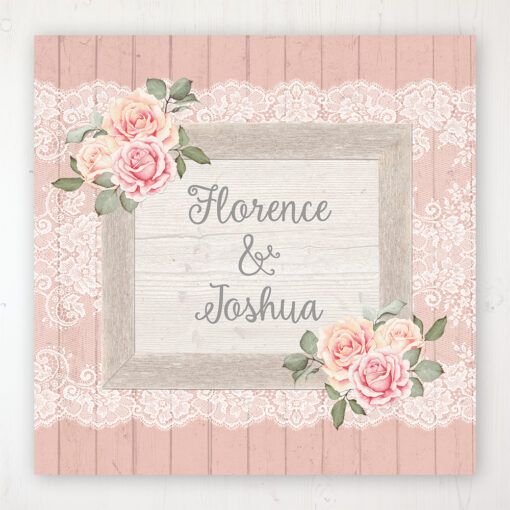 Coral Haze Wedding Collection - Main Stationery Design