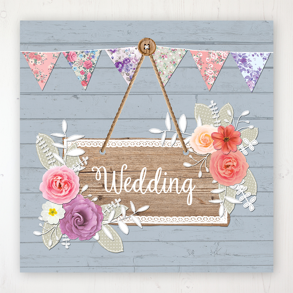 Cornflower Meadow Wedding Collection - Main Stationery Design