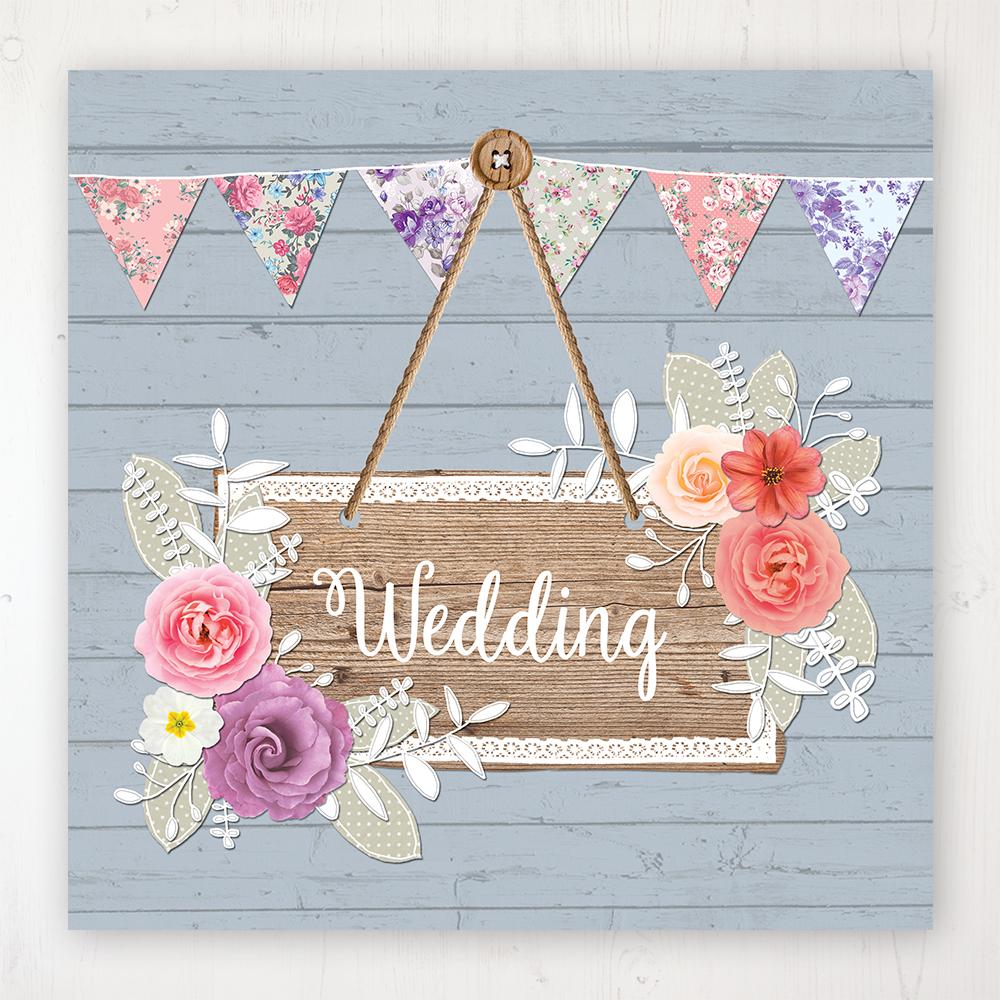 Cornflower Meadow Wedding Collection - Main Stationery Design