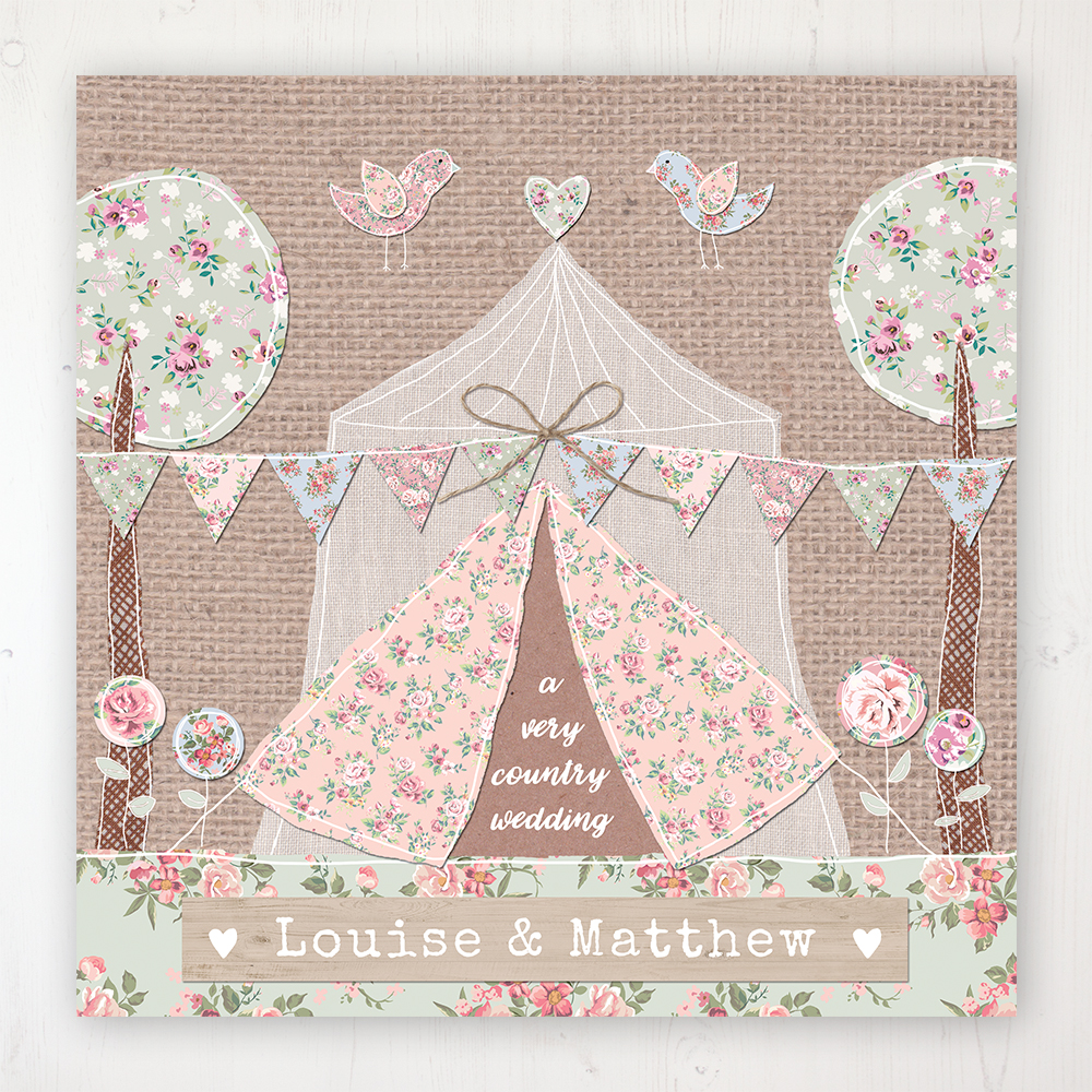 Country Wedding Collection - Main Stationery Design