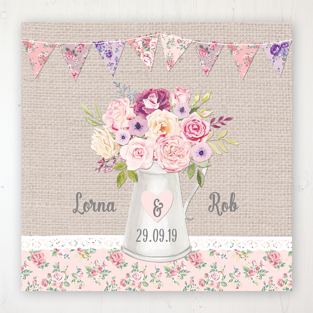 Floral Blooms Wedding Collection - Main Stationery Design