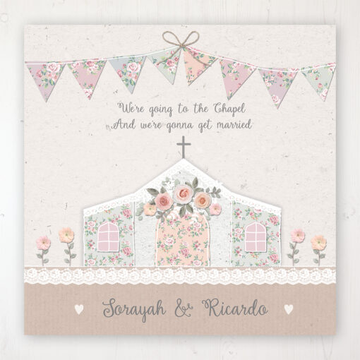 Going to the Chapel Wedding Collection - Main Stationery Design