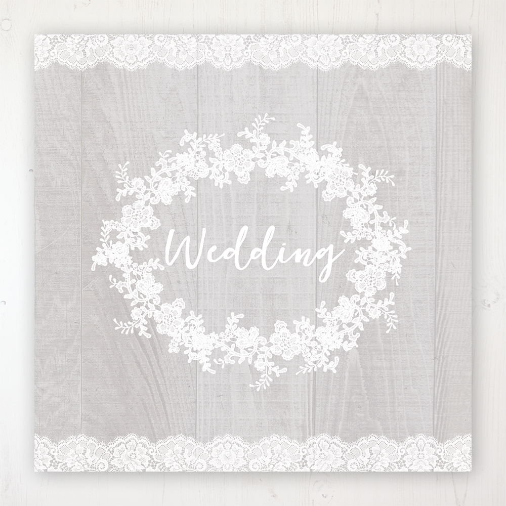 Grey Whisper Wedding Collection - Main Stationery Design