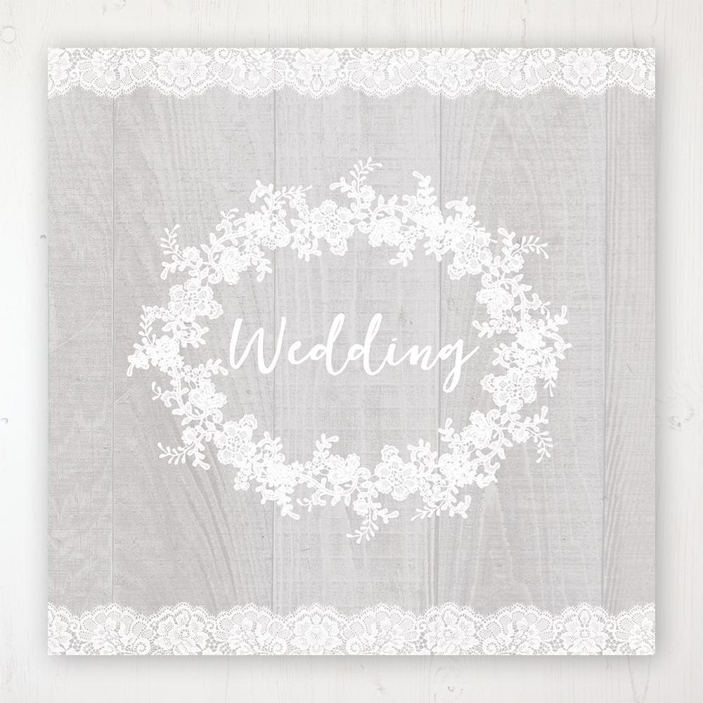 Grey Whisper Wedding Collection - Main Stationery Design
