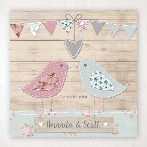 Lovebirds Wedding Collection - Main Stationery Design
