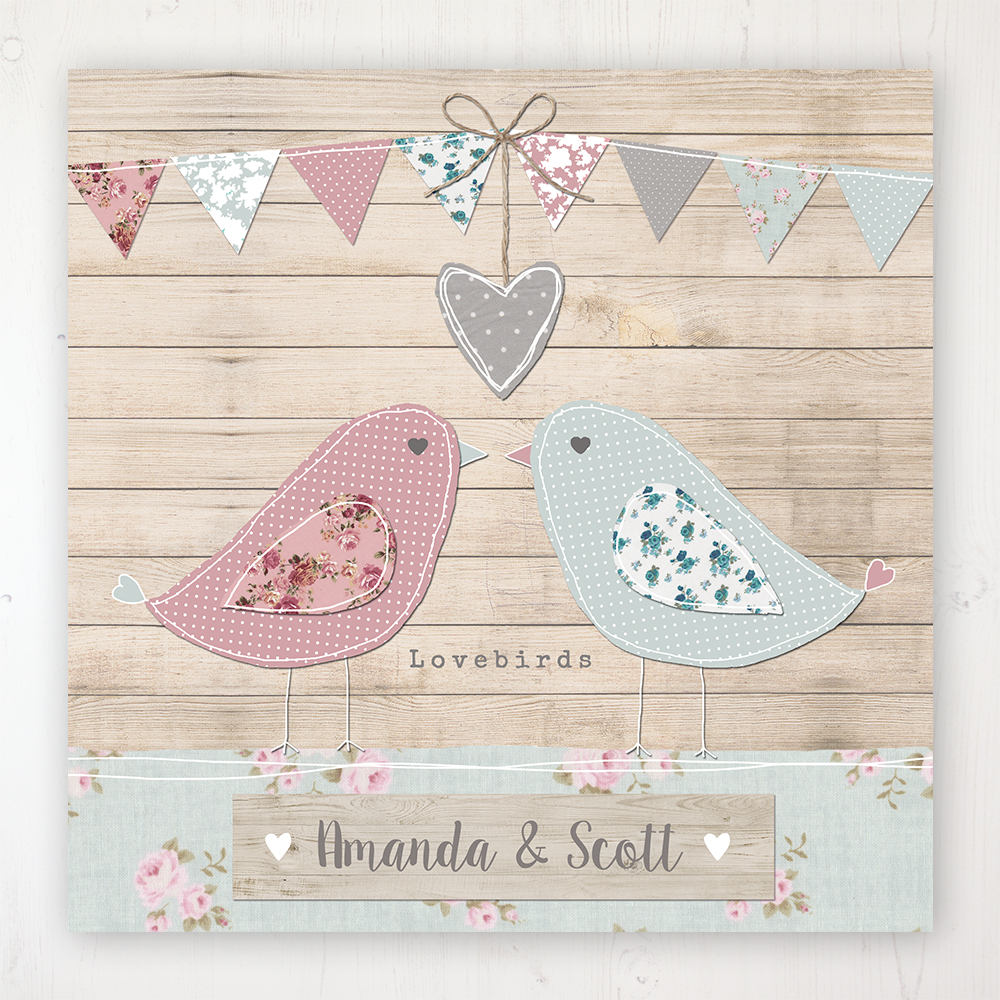 Lovebirds Wedding Collection - Main Stationery Design
