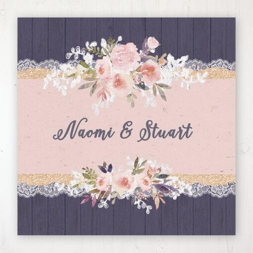 Midnight Glimmer Wedding Collection - Main Stationery Design