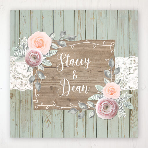 Ophelia Sage Wedding Collection - Main Stationery Design