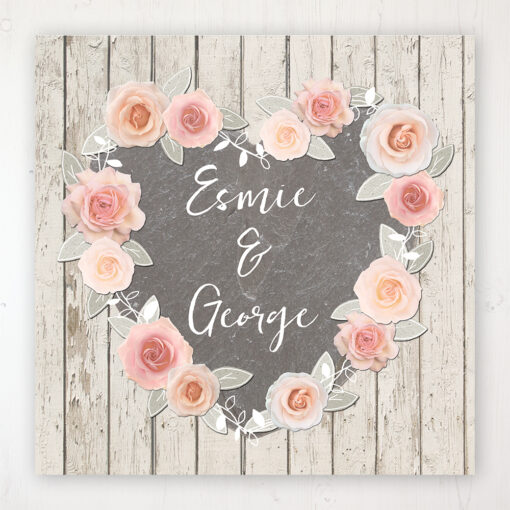 Rose Cottage Wedding Collection - Main Stationery Design