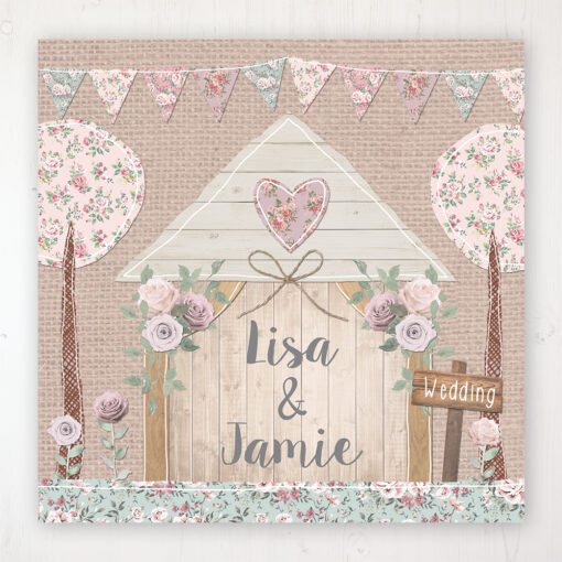 Rustic Barn Wedding Collection - Main Stationery Design