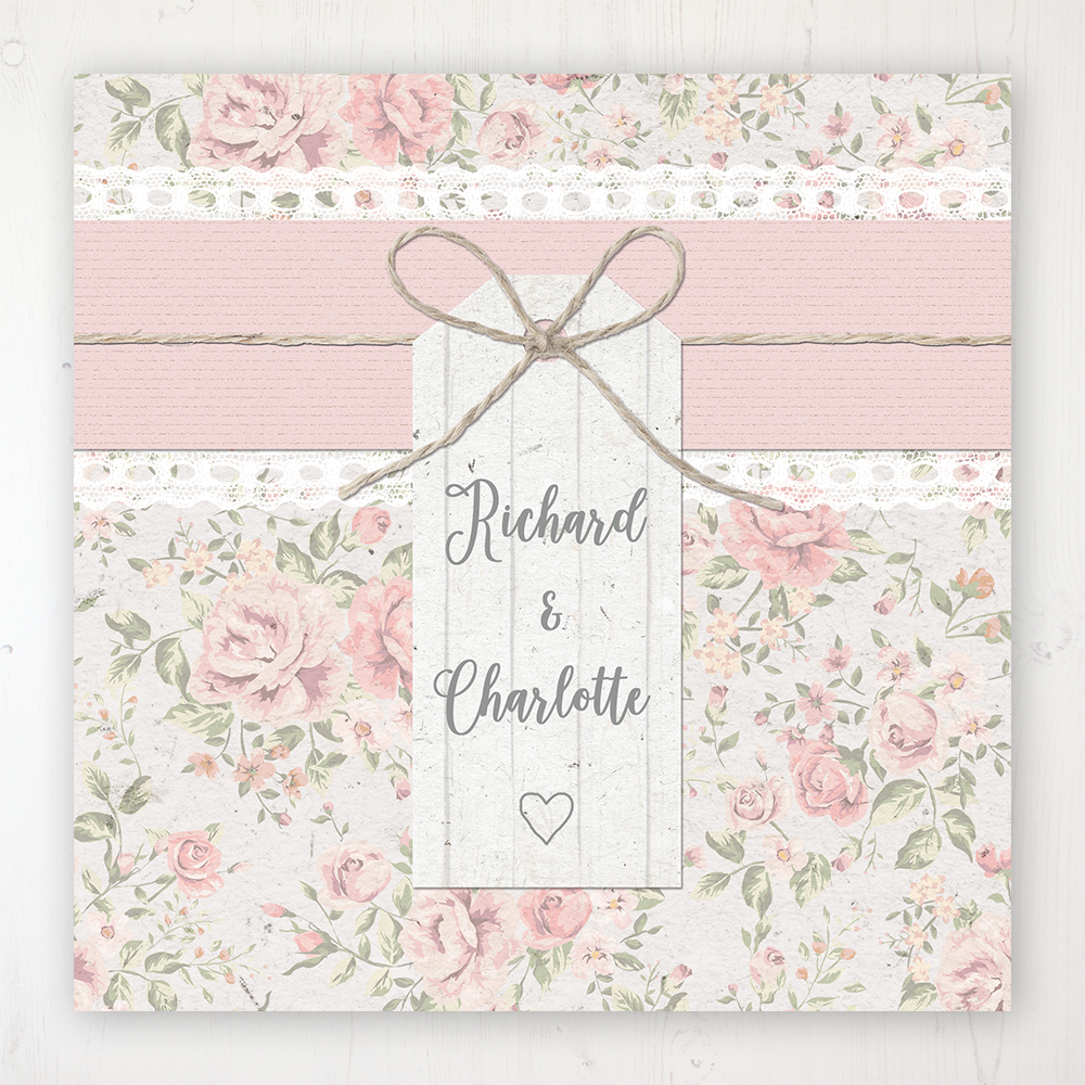 Summer Breeze Wedding Collection - Main Stationery Design