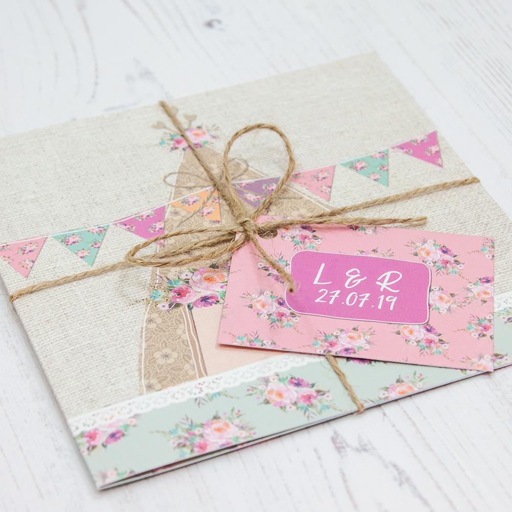 Tipi Love Wedding Invitations - Sarah Wants Stationery
