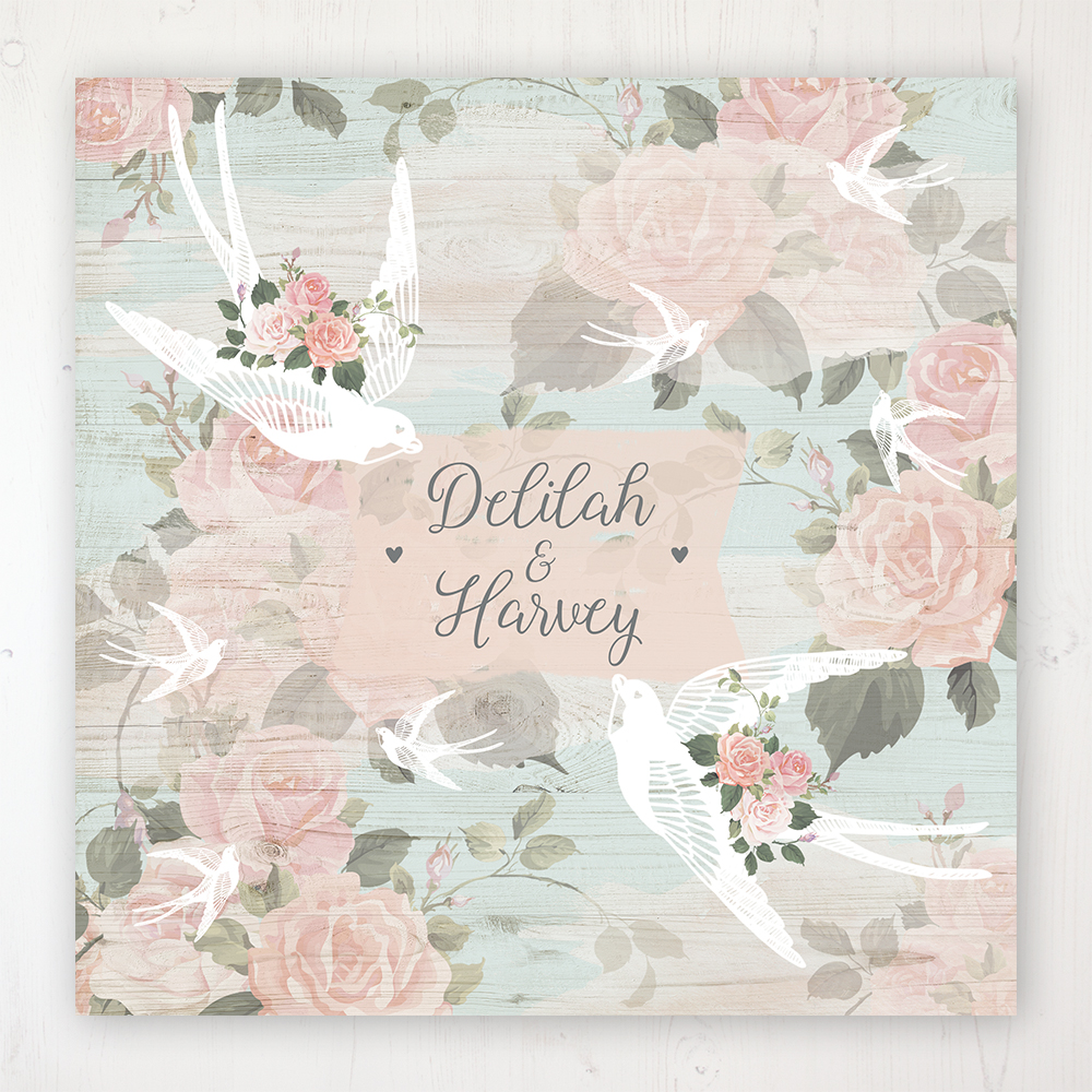 Dancing Swallows Wedding Collection - Main Stationery Design