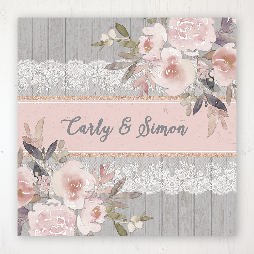 Delicate Mist Wedding Collection - Main Stationery Design
