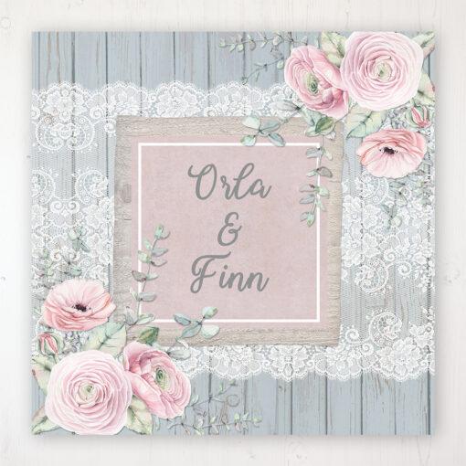 Dusty Flourish Wedding Collection - Main Stationery Design