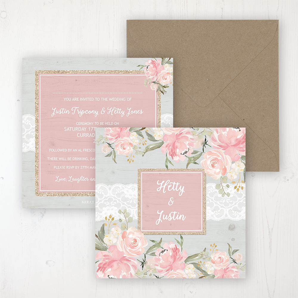 Enchanted Garden Wedding Invitations - Sarah Wants Stationery