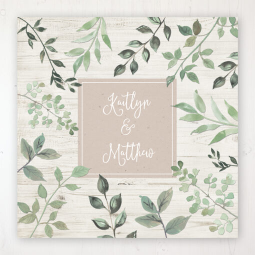 Evergreen Forest Wedding Collection - Main Stationery Design