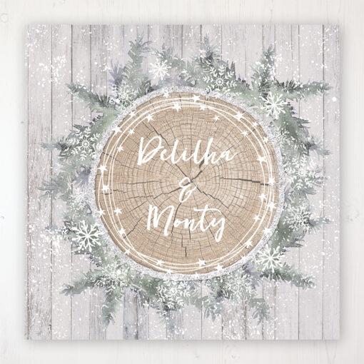 Winter Wonderland Wedding Collection - Main Stationery Design