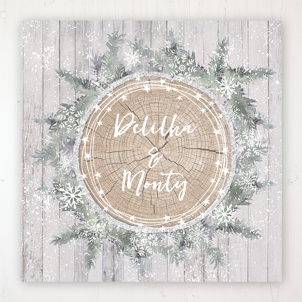 Winter Wonderland Wedding Collection - Main Stationery Design