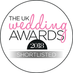 UK Wedding Awards 2018 Shortlist Logo