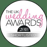 UK Wedding Awards 2018 Shortlist Logo
